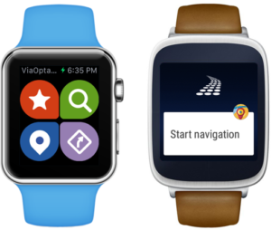 Smartwatches and ViaOpta Nav