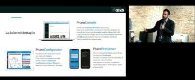 Francesco che illustra le componenti del sistema PharoSuite